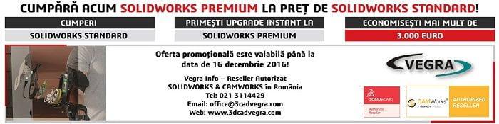 Upgrade instant la SOLIDWORKS Premium!