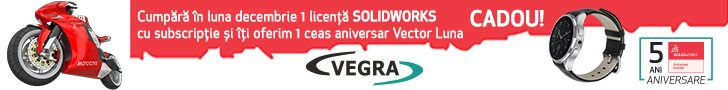 Vegra Info – aniversare 5 ani ca Reseller Autorizat SOLIDWORKS în România!