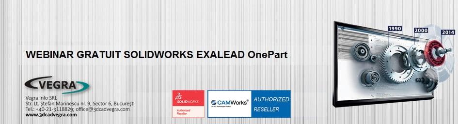 Webinar GRATUIT SOLDWORKS Exalead OnePart