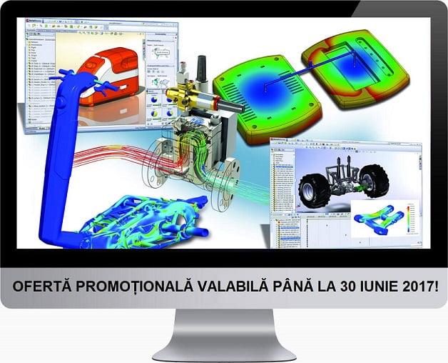 Acum e momentul ideal pentru achiziția produselor SOLIDWORKS Simulation!
