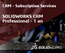 SOLIDWORKS CAM Professional Service Initial - 1 Year