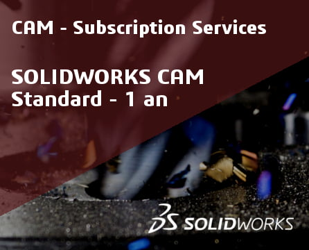 SOLIDWORKS CAM Standard Service Initial - 1 Year