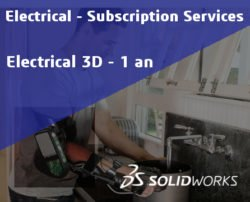 SOLIDWORKS Electrical 3D Service Initial - 1 Year