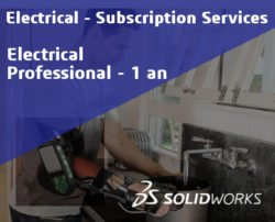 SOLIDWORKS Electrical Professional Service Initial - 1 Year