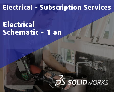 SOLIDWORKS Electrical Schematic Professional Service Initial - 1 Year