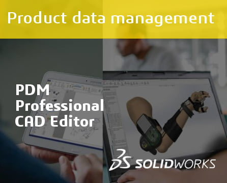 SOLIDWORKS PDM Professional CAD Editor