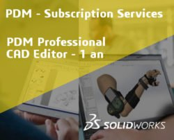 SOLIDWORKS PDM Professional CAD Editor Service Initial - 1 Year
