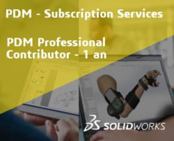 SOLIDWORKS PDM Professional Contributor Service Initial - 1 Year