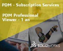 SOLIDWORKS PDM Professional Viewer Service Initial - 1 Year