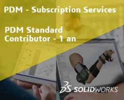 SOLIDWORKS PDM Standard Contributor Service Initial - 1 Year
