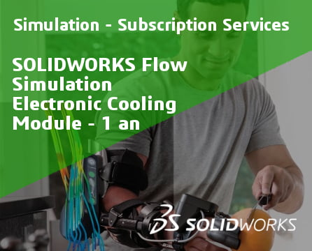 SOLIDWORKS Flow Simulation Electronic Cooling Module Service Initial - 1 Year