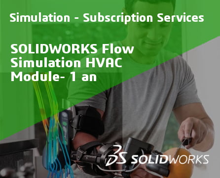 SOLIDWORKS Flow Simulation HVAC Module Service Initial - 1 Year