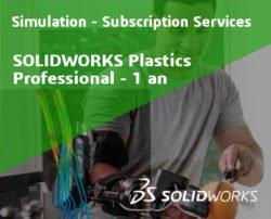 SOLIDWORKS Plastics Professional Service Initial - 1 Year