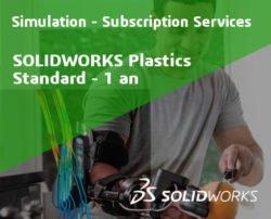 SOLIDWORKS Plastics Standard Service Initial - 1 Year