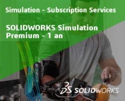 SOLIDWORKS Simulation Premium Service Initial - 1 Year