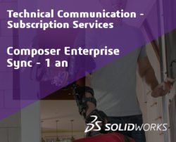 SOLIDWORKS Composer Enterprise Sync Standalone Service Initial - 1 Year