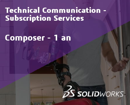 SOLIDWORKS Composer Standalone Service Initial - 1 Year