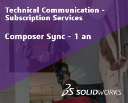SOLIDWORKS Composer Sync Standalone Service Initial - 1 Year