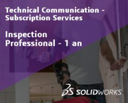 SOLIDWORKS Inspection Professional Service Initial - 1 Year