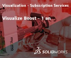 SOLIDWORKS Visualize Boost Service Initial - 1 Year
