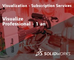 SOLIDWORKS Visualize Professional Service Initial - 1 Year