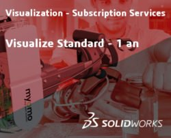 SOLIDWORKS Visualize Standard Service Initial - 1 Year