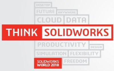 Ia loc în primul rând la SOLIDWORKS World 2018!