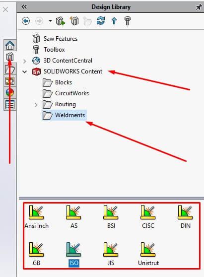 weldments profile