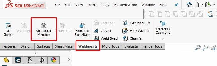 tutorial weldments
