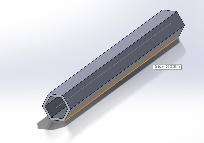 Cum creezi profile personalizate pentru structuri metalice in SOLIDWORKS