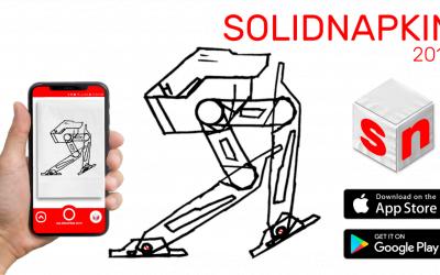 SOLIDNAPKIN: transformă schițele desenate de mână în componente 3D