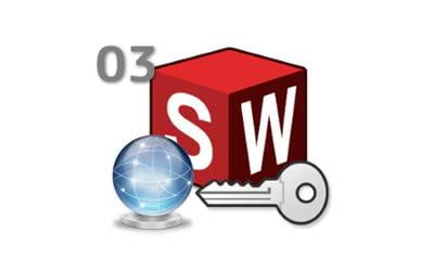 Utilizarea licenţelor de SOLIDWORKS cu activare online