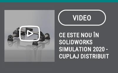 Ce este nou în SOLIDWORKS Simulation 2020 – Cuplaj distribuit